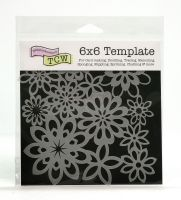 !NEW DESIGNS ADDED! Square Stencils 6x6