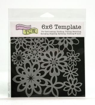 !NEW DESIGNS ADDED! Square Stencils 6x6""