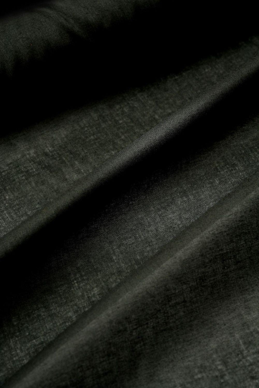 Black Discharge Cotton Borsalini 150cm x 1m