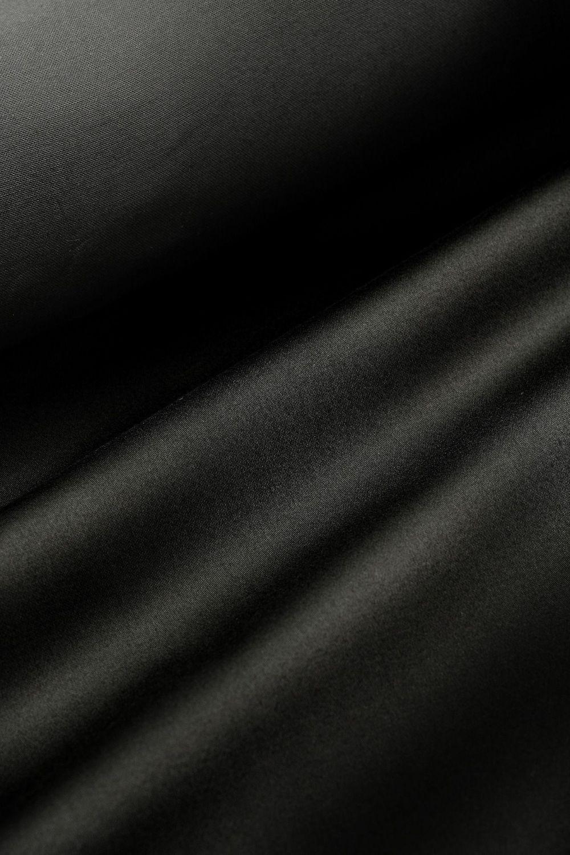 Black Discharge Cotton Sateen 140cm x 1m