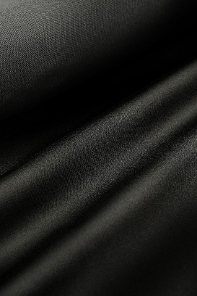 Black Discharge Cotton Sateen 140cm x 1m