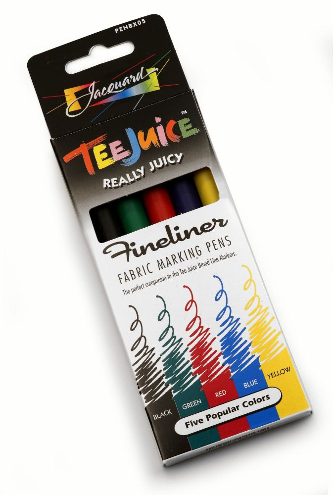 Jacquard Tee Juice Fineliner Set