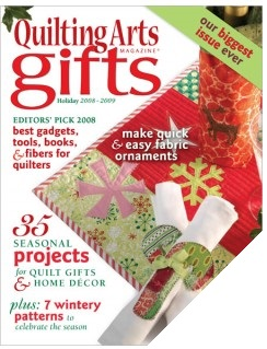 Quilting Arts Gifts Magazine - Holiday 2008/2009 Bumper Issue