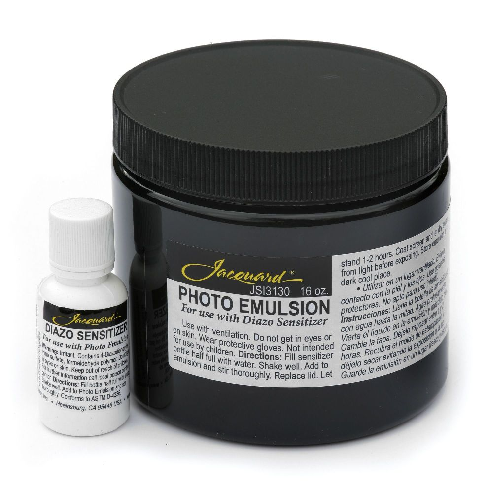 Jacquard Photo Emulsion & Diazo Sensitizer 16oz