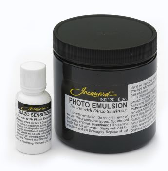 Jacquard Photo Emulsion & Diazo Sensitizer 8oz