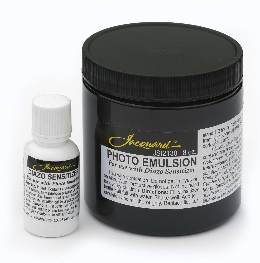 Jacquard Photo Emulsion & Diazo Sensitizer 8oz
