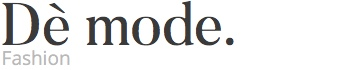 Mode, site logo.