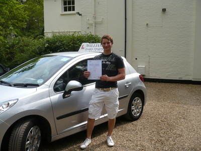 Charlie Godfrey 2 minor faults