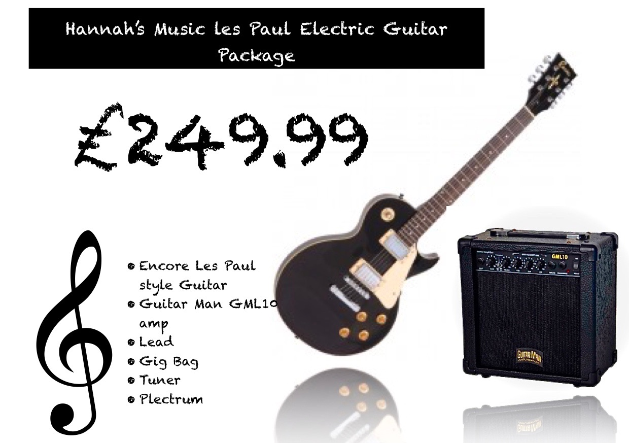 Encore Les Paul Package