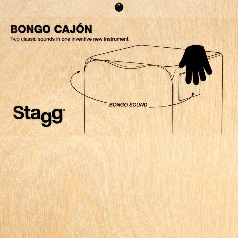 stagg bongo cajon 4