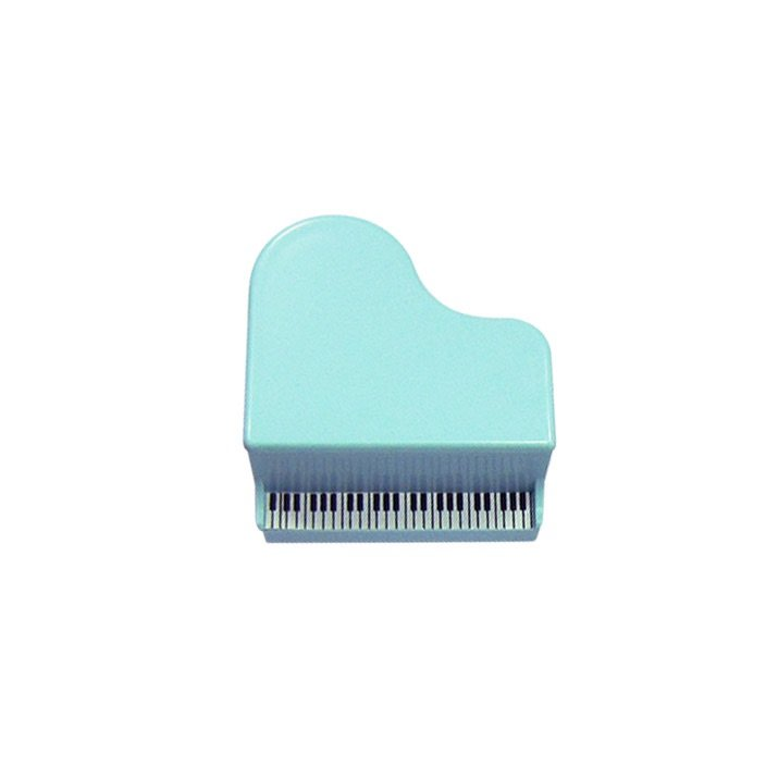 Piano Pencil sharpener blue