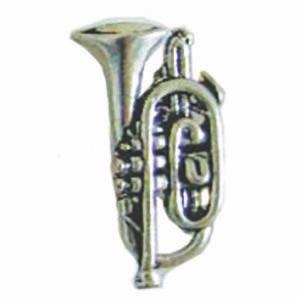 pewter pin badge cornet.jpg