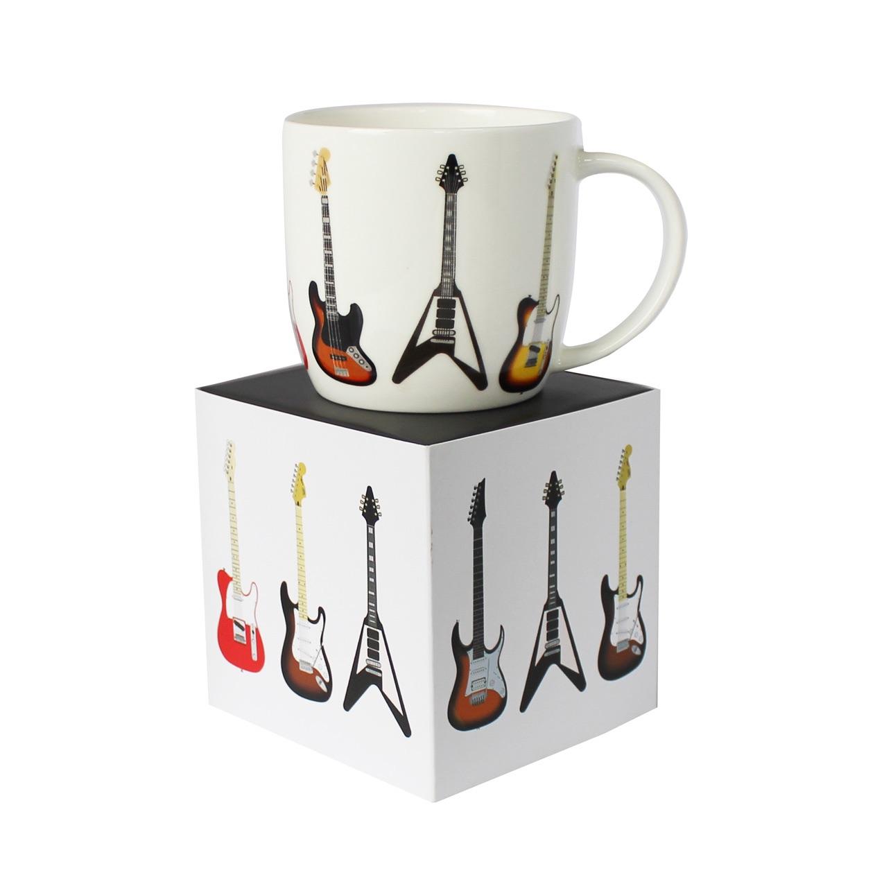boxed guitar mugs £9.95