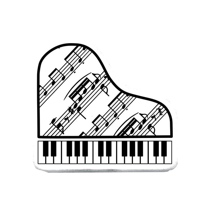 piano rubber white