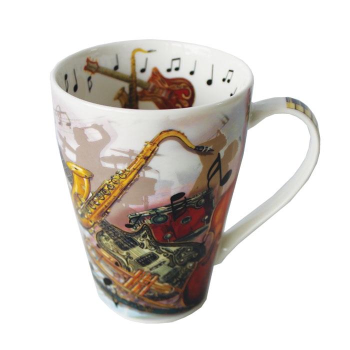 Music rock n roll mug