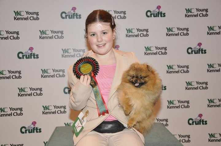 Lauren winning YKC Toy Handling 2011