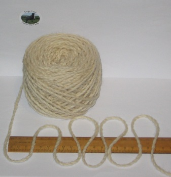 100g ball Cream 100% Pure Merino knitting Wool Worsted Spun Thick Chunky Yarn