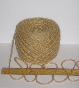 100g Light Brown & Cream Marl 100% Pure Wool British double knitting dk EFW 506