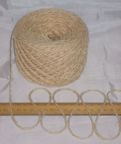 100g ball Cream Marl 100% Pure Wool British Breed double knitting dk EFW 507