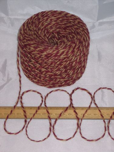 100g ball Red Wine & Ginger Marl 100% Pure Wool British Breed knitting dk EFW 508