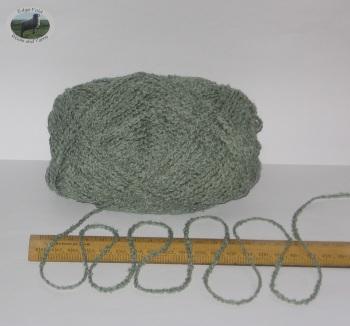 100g Grey Beige Oatmeal Tweed 100/% English Wool Double knitting yarn dk 2//4nm