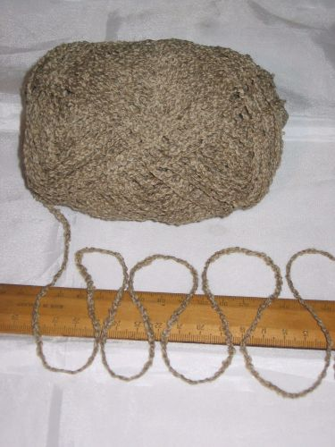 100g Mid Camel Brown Boucle 100% Pure British Breed Wool double knitting dk EFW 802