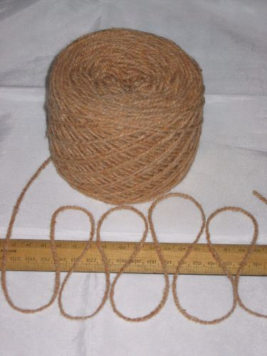 100g Caramel Tan Brown 100% Pure Wool British Breed DK Double Knitting EFW 215