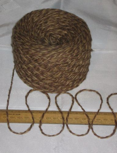 100g Toffee & Caramel Brown Marl 100% Pure Wool British Breed knitting dk EFW 510