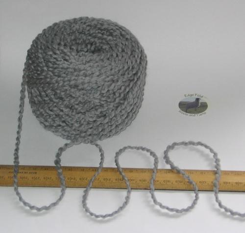 100g ball Grey Blue Ocean Air wavy Boucle 100% Pure Wool knitting yarn Chunky