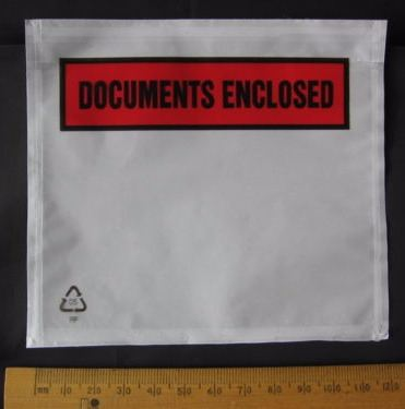 10 x A7 size Documents Enclosed Wallets Pouches Envelopes 123 x 110 mm Printed