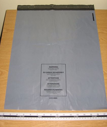 10 x A15 Large Grey Mail Bags Parcel Sacks approx 16