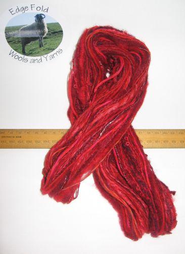 60m 20 x 3m Variety Pack Red knitting wool yarn Craft Weaving Oddments Bundle