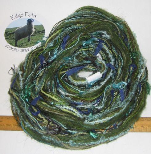 60m 20 x 3m Variety Pack Green knitting wool yarn Craft Weaving Oddments Bundle