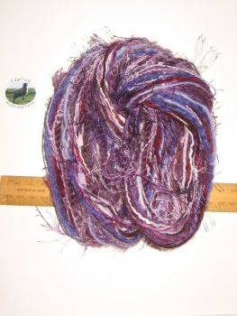 60m 20 x 3m Variety Pack Purple knitting wool yarn Craft Weaving Oddments Bundle
