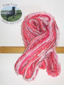 60m 20 x 3m Variety Pack Pink knitting wool yarn Craft Weaving Oddments Bundle