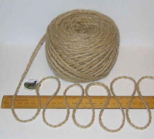 100g balls Light Brown 100% Pure Merino Chunky knitting Wool Yarn
