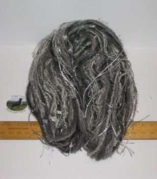 60m 20 x 3m Variety Pack Grey knitting wool yarn Craft Weaving Oddments Bundle