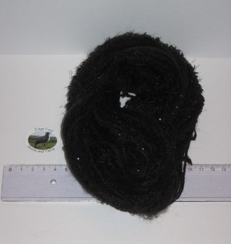 60m 20 x 3m Variety Pack Black knitting wool yarn Craft Weaving Oddments Bundle