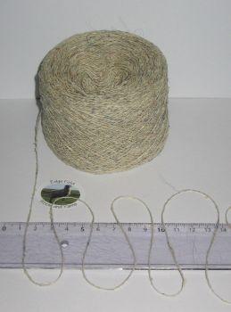 50g balls of Skye Silk Cashmere single 1 ply knitting Wool Texere yarn Grey Cream Tweed Matt finish 90% Mulberry Silk 5% Cashmere 5% Cotton