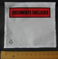 Documents Enclosed ~ A7 ~ 123mm x 110 mm