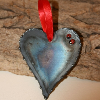 Love Bug Hanging Heart