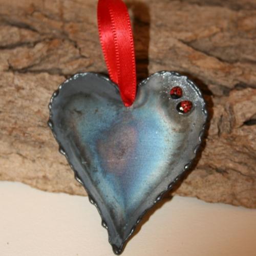 Love Bug Hanging Heart