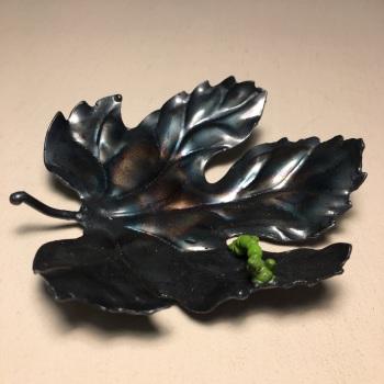 Pressed Leaves: Medium Caterpillar Leaf