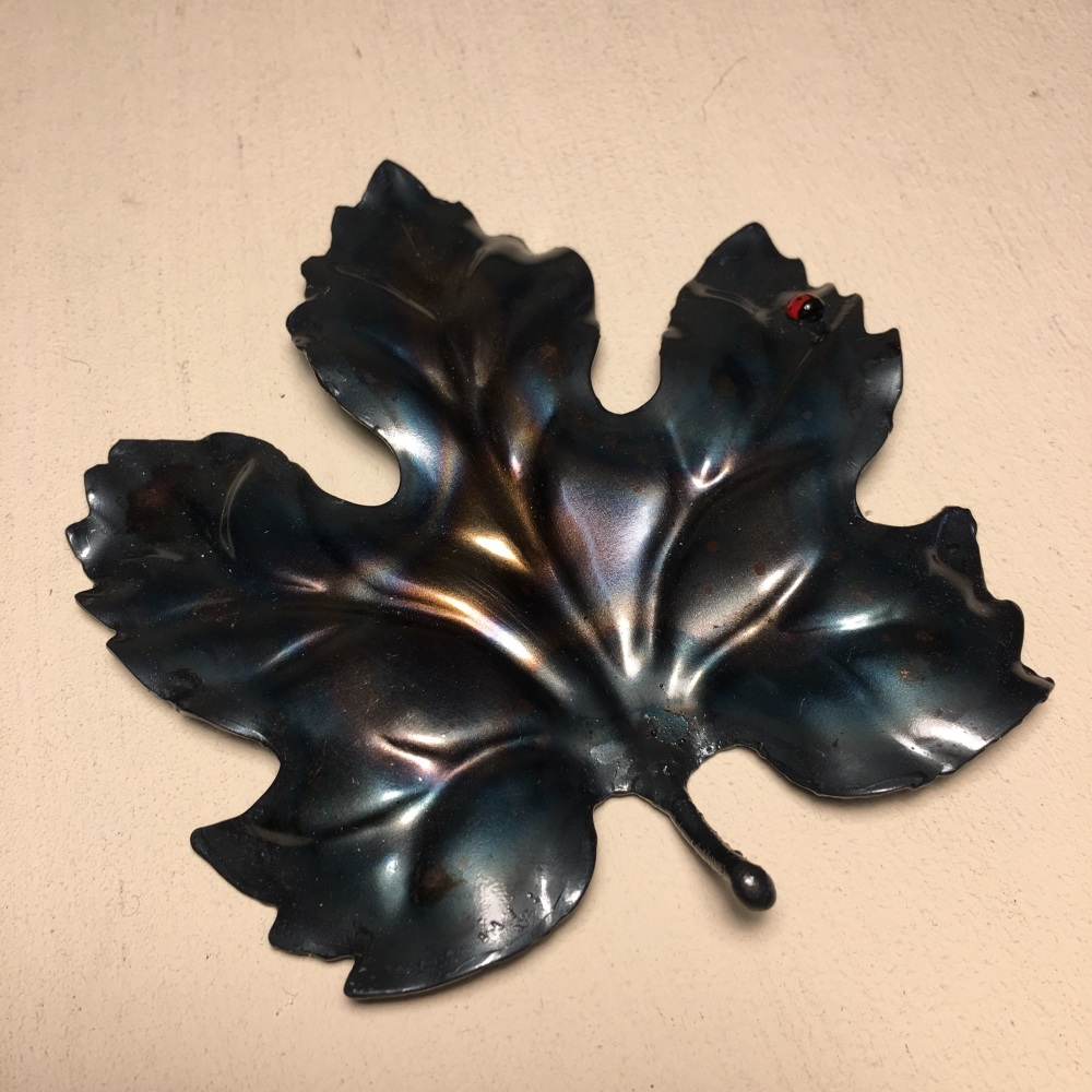 Pressed Leaves: Medium Ladybird Leaf