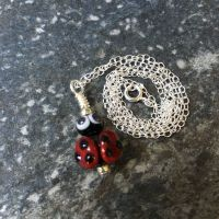 Glass Ladybird Necklace