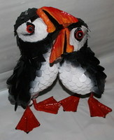 Archive pair of puffins