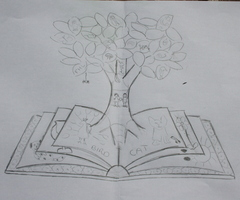 library sketch
