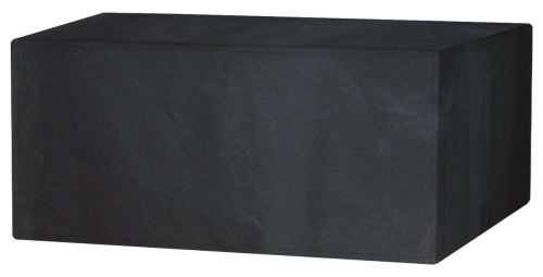 Garland Polyester 6 Seat Seater Rectangular Black Table Cover