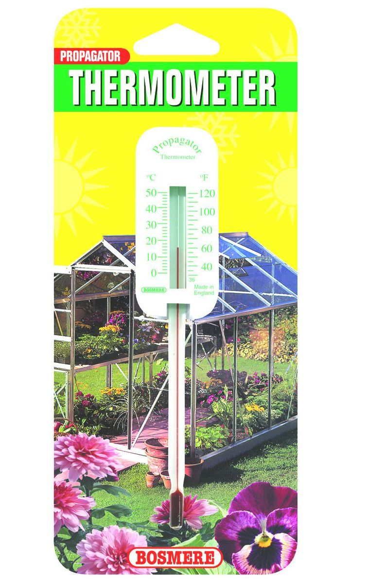 Bosmere Propagation Thermometer for Seed Propagators & Trays