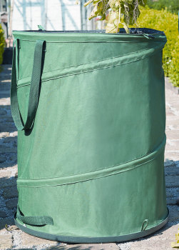 Gardman Jumbo Size Pop Up Hard Base Garden Waste Rubbish Tidy Bin